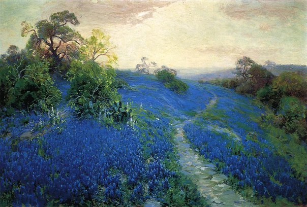 Robert Julian Onderdonk (1882 – 1922) -Texan Impressionist painter.